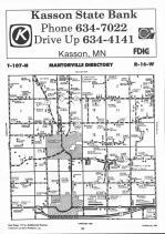 Dodge County Map Image 014, Dodge and Steele Counties 1992
